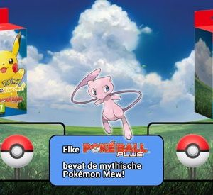 pokemon lets go + pokemon plus bundel